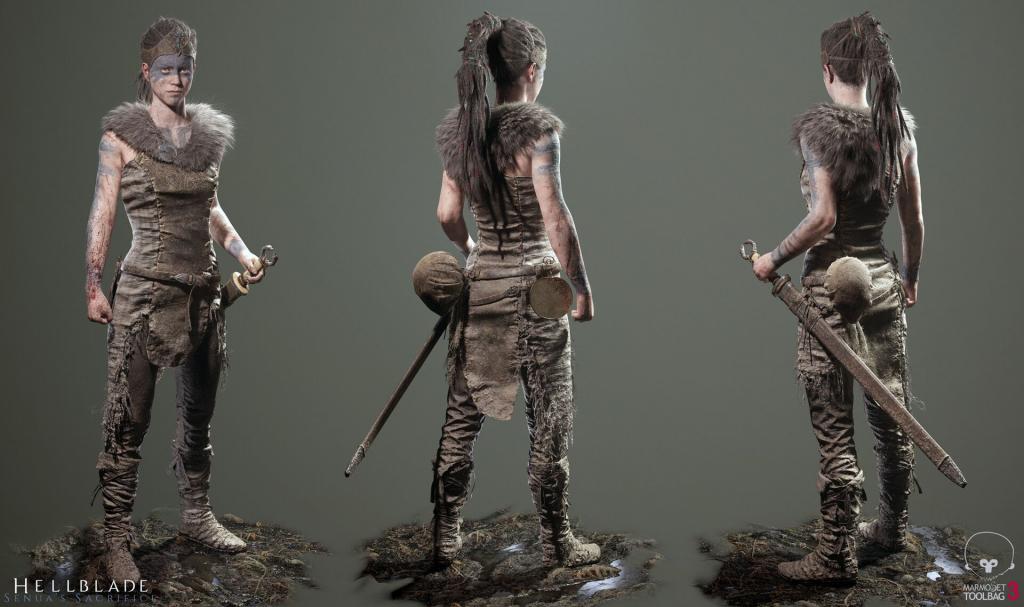Hellblade: Senua's Sacrifice render