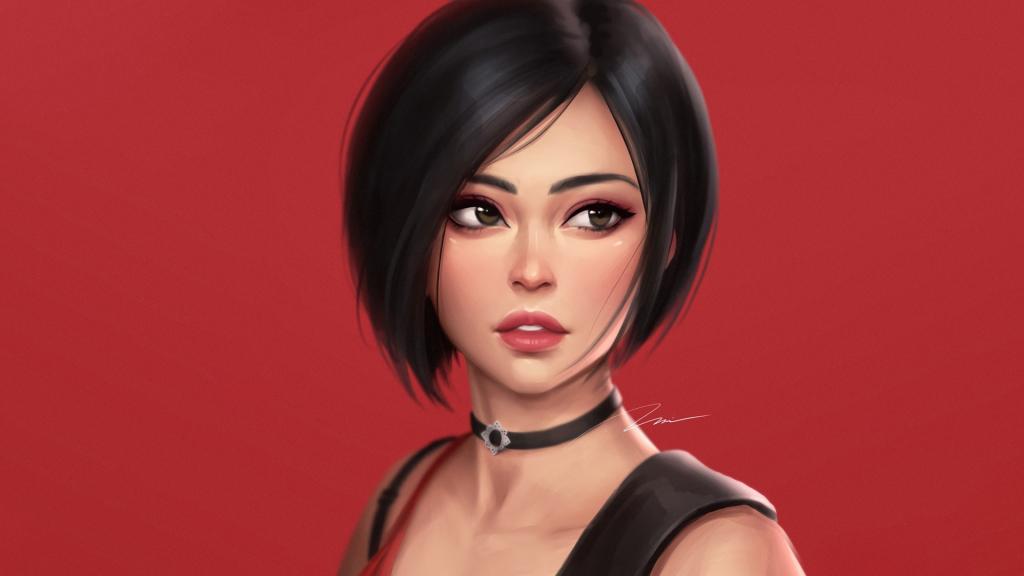 Ada Wong Resident Evil 2 3d model 3