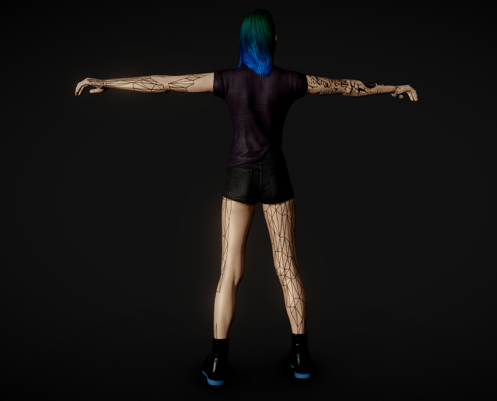 Shelly cyberpunk 2