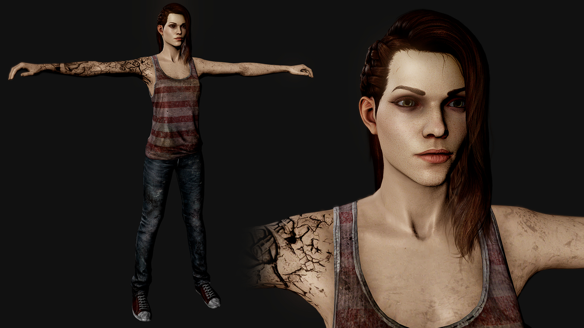 Shelly bombshell the last of us left behind 0