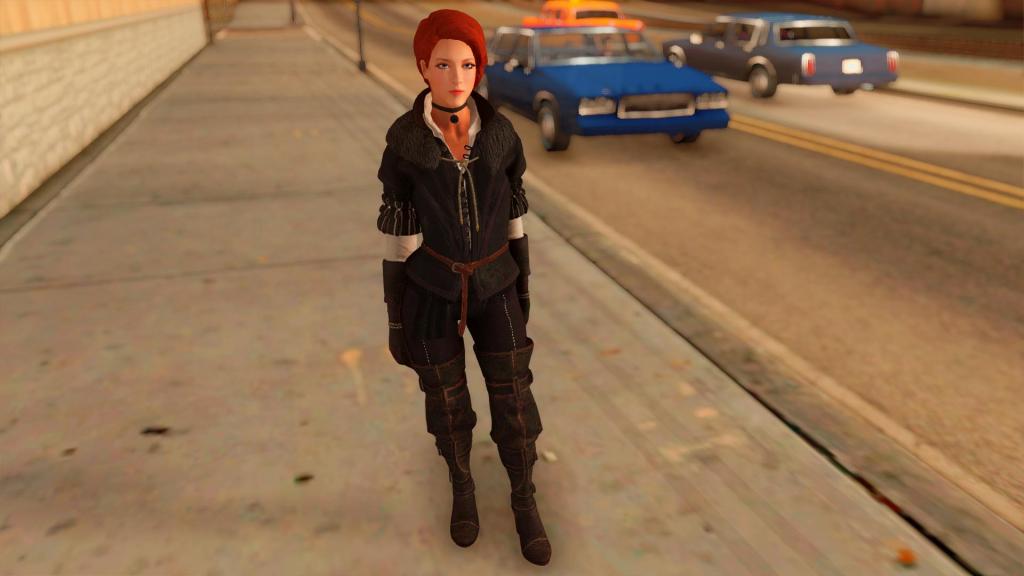 Amazing player: Female (Yennefer suit) GTA