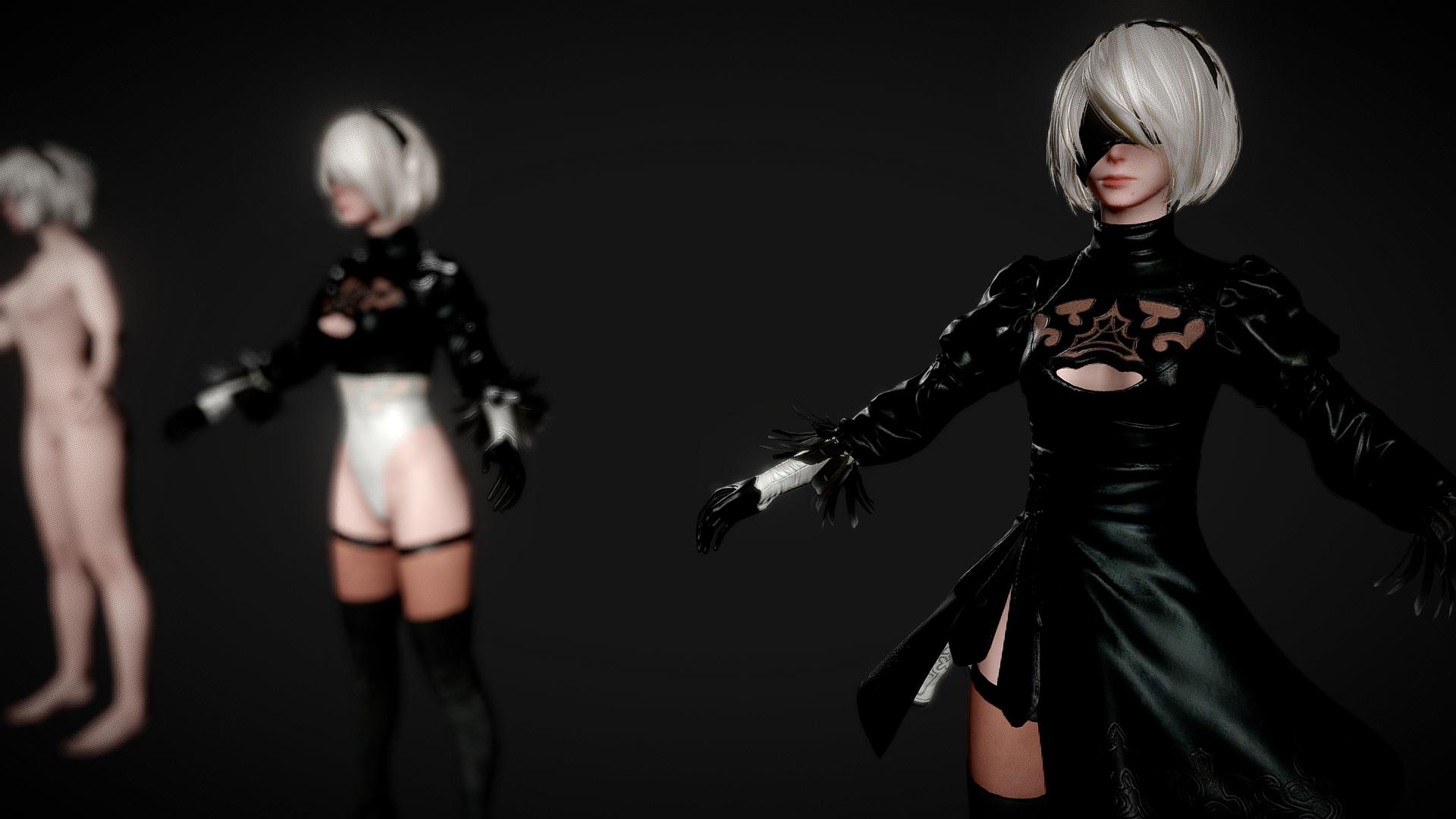 NieR: Automata 3D MODEL