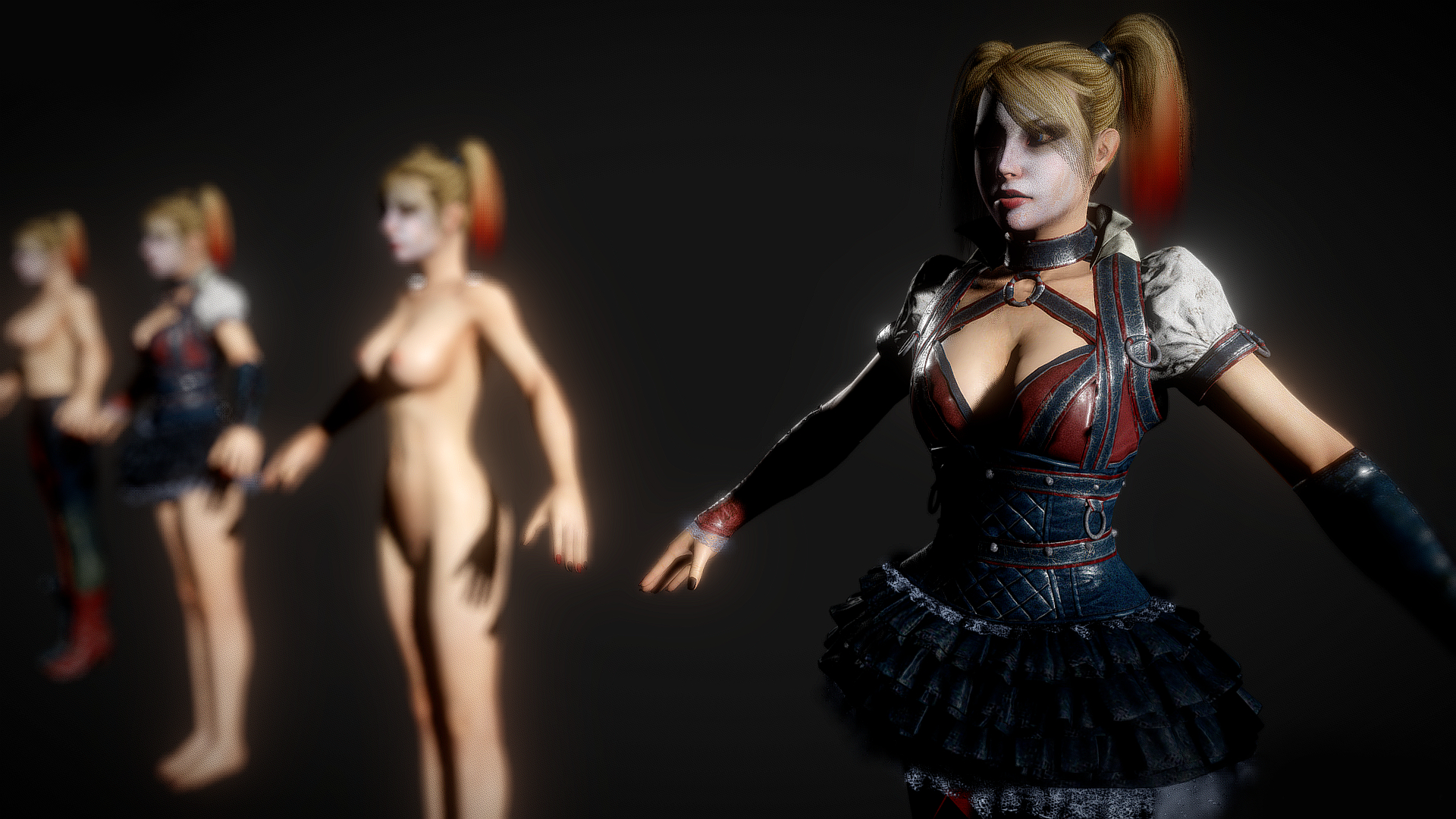 batman arkham knight harley quinn 0