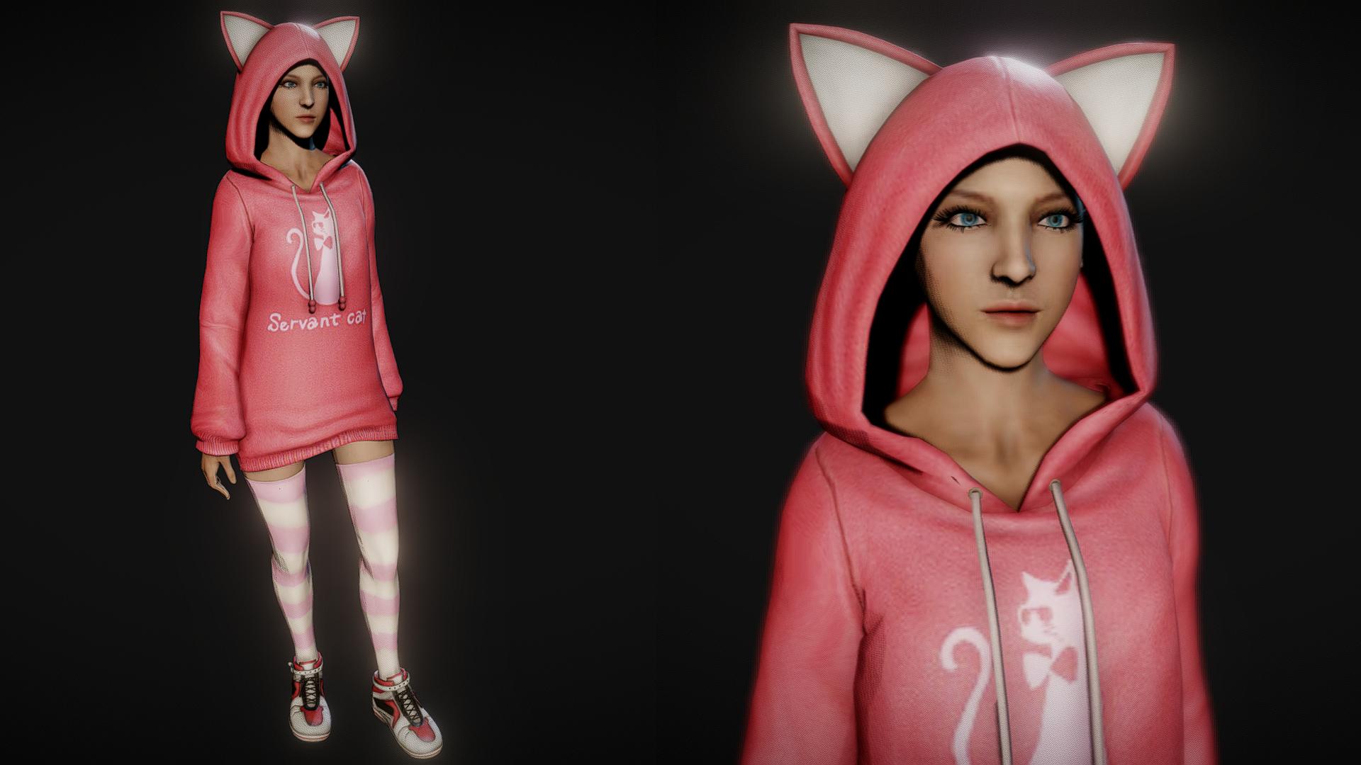 Amazing Player: Female (cat costume) 0