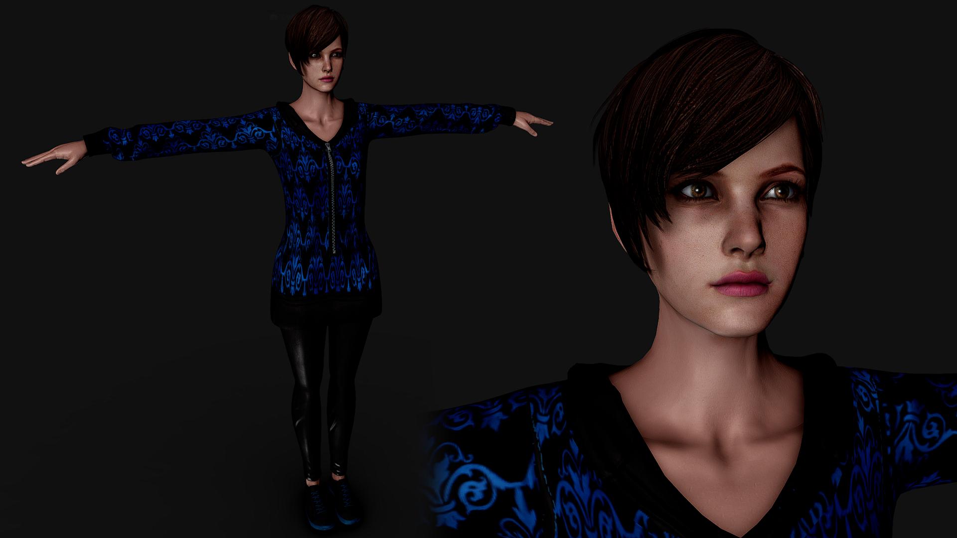 Resident Evil: Revelations 2 moira hood 0