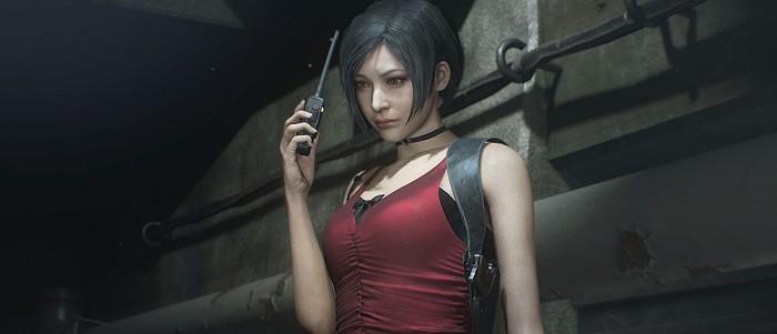 Ada Wong Resident Evil 2 3d model 2