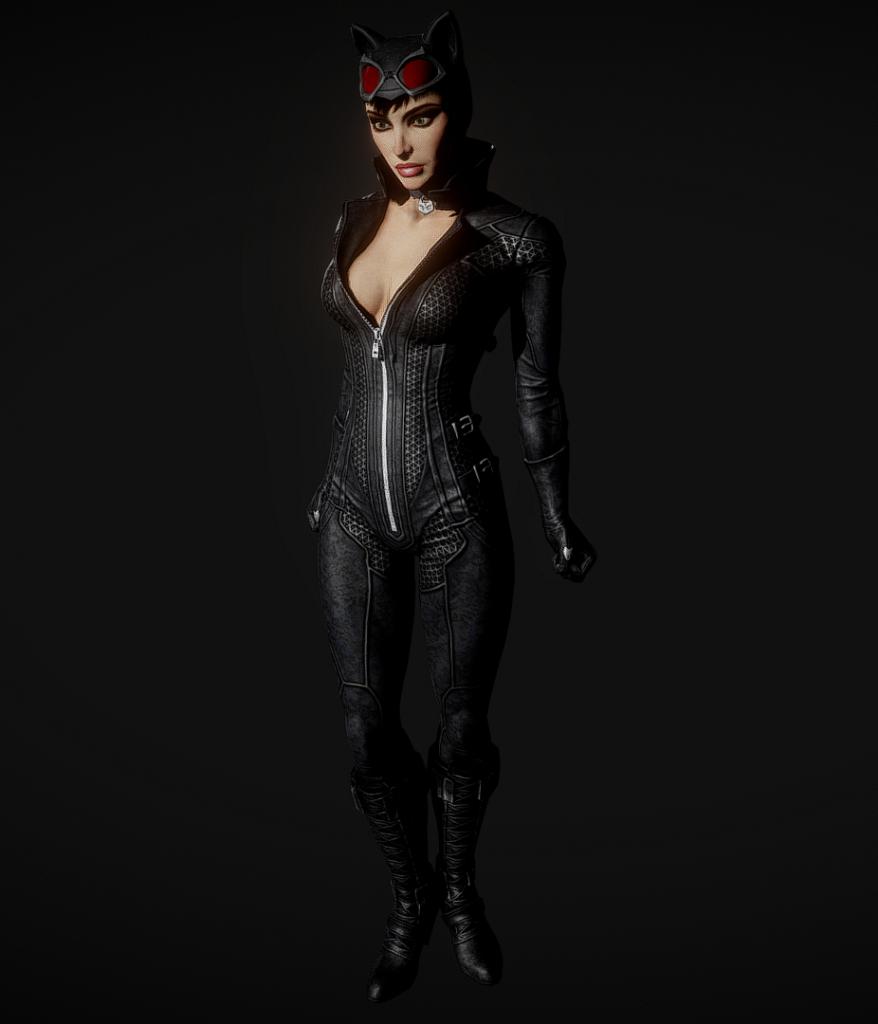 batman arkham city catwoman 1