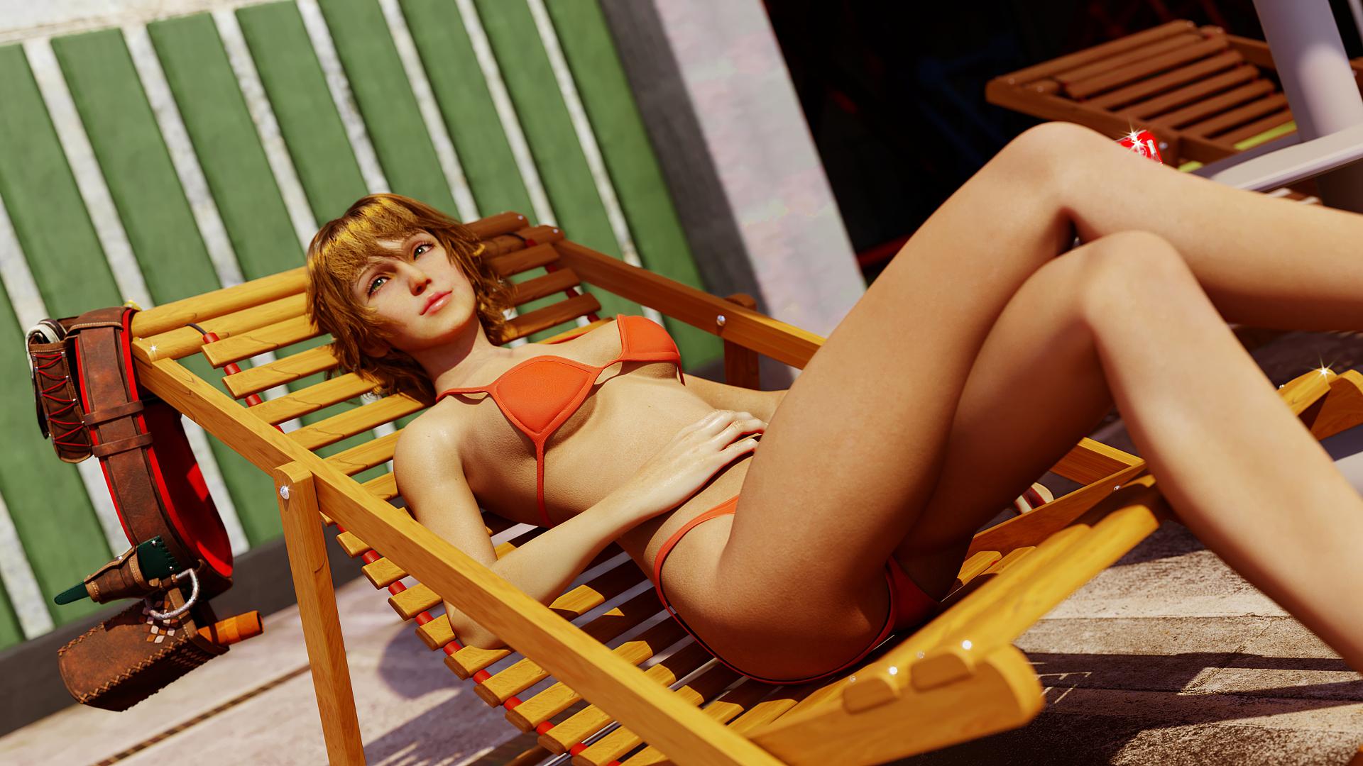 Cindy Aurum bikini