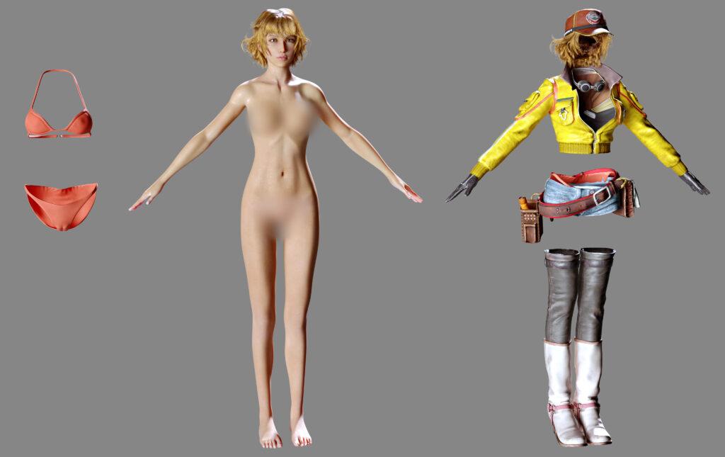 Cindy Aurum 3d model