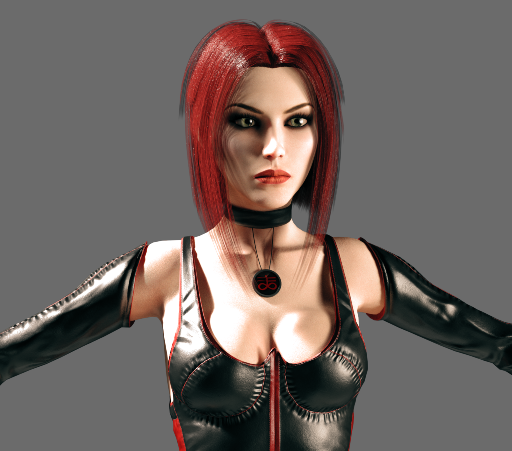 BloodRayne test render 1