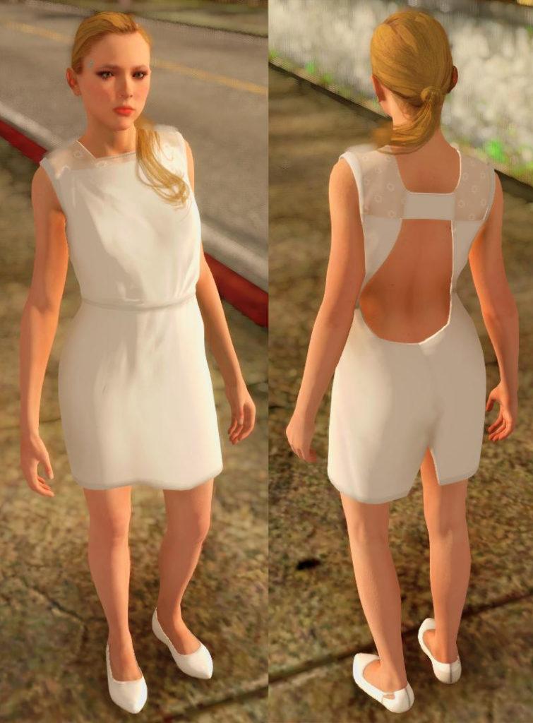 Chloe Detroit: Become Human GTA SA screen 4