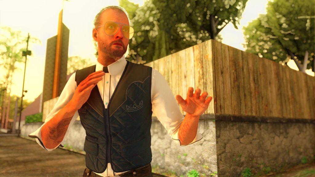 Joseph Seed Far Cry 5 GTA San Andreas screen 2