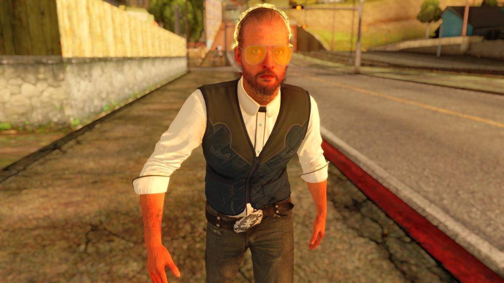 Joseph Seed Far Cry 5 GTA San Andreas screen 1