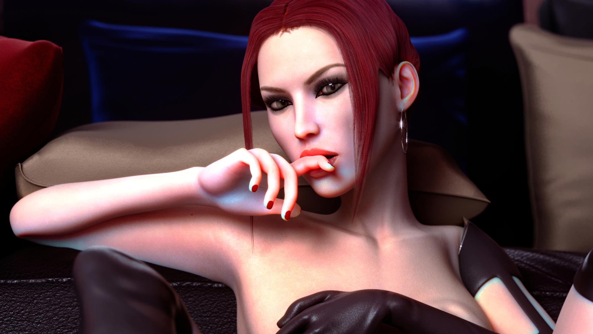 bloodrayne black dress