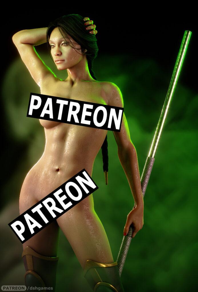Jade mortal kombat nude