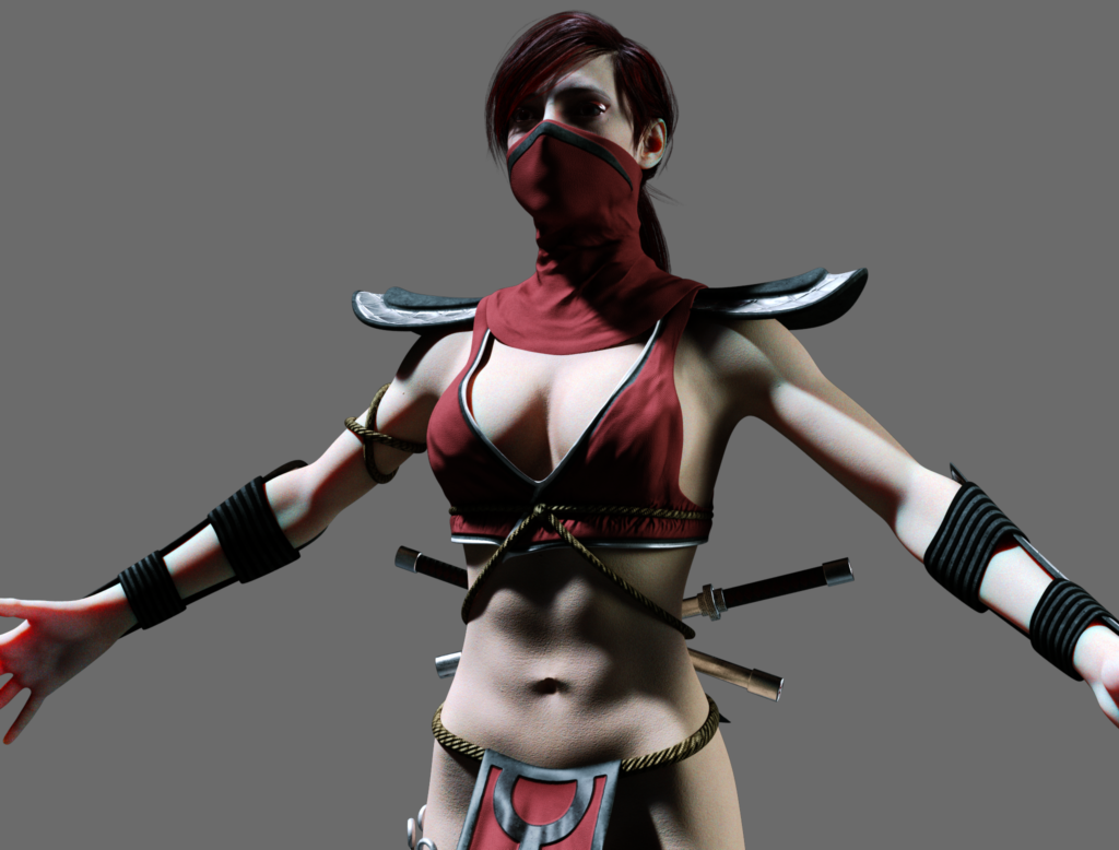 Skarlet Mortal Kombat dev11