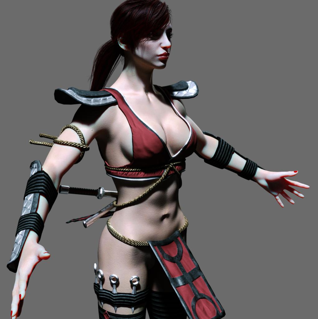 Skarlet Mortal Kombat dev7